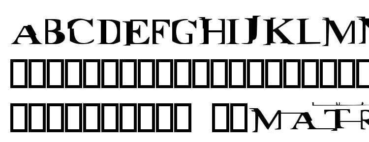 Matrix Font Download Free / LegionFonts