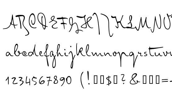 MisterK Font Download Free / LegionFonts