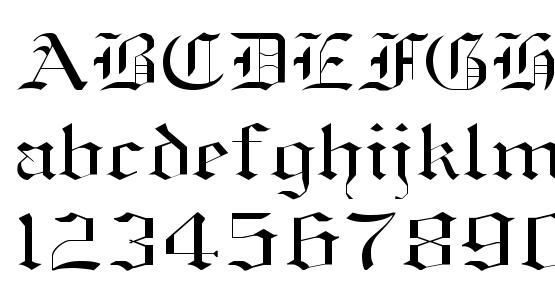 OldEnglish Normal Font Download Free / LegionFonts
