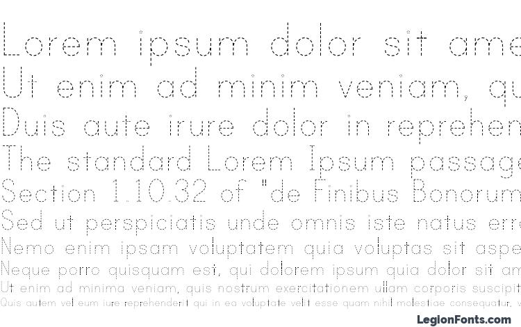 Print dashed Font Download Free / LegionFonts