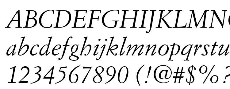 Simoncini Garamond LT Italic Font Download Free / LegionFonts