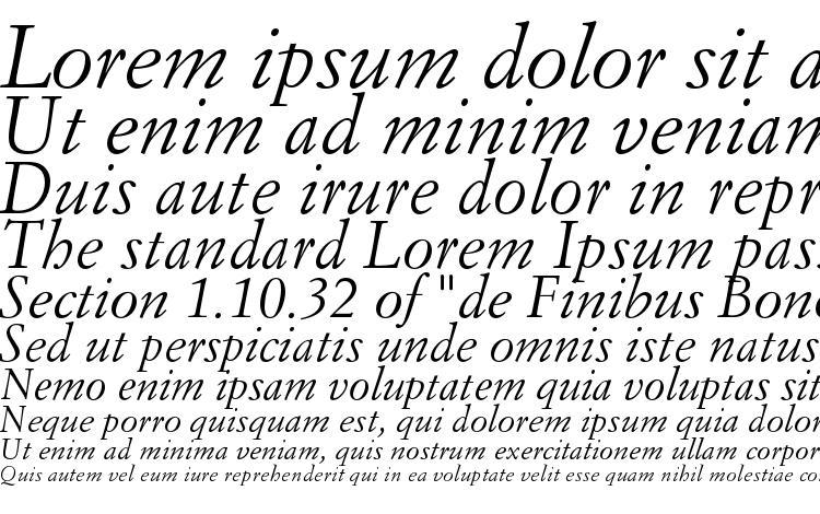 SimonciniGaramondStd Italic Font Download Free / LegionFonts
