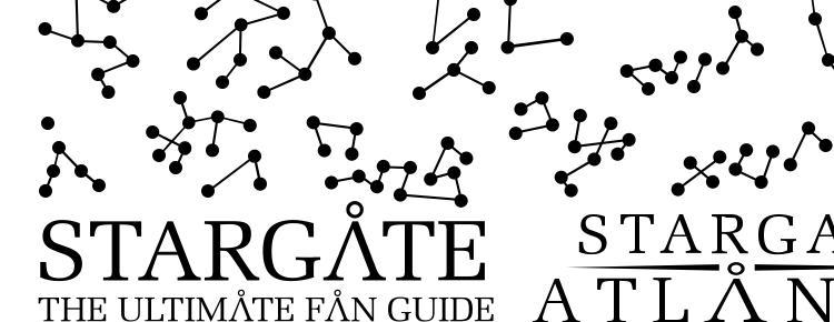 Stargate Atlantis Glyphs Font Download Free / LegionFonts