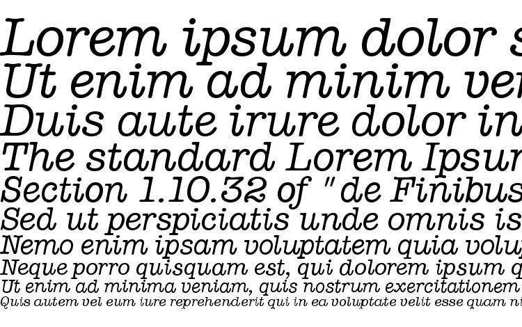 Typewriter Italic Font Download Free / LegionFonts