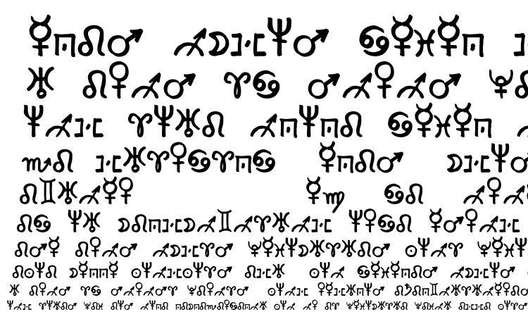 Zodiac2 Font Download Free / LegionFonts