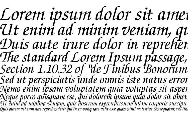 ZurichCalligraphic Italic Font Download Free / LegionFonts