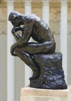 Image result for auguste rodin the thinker