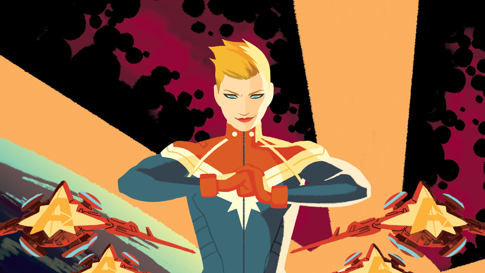 Image result for captain marvel hd