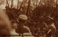 Uroczystość w 2puł. LP w Czewlu, prawdopodobnie z okazji imienin dowódcy pułku rtm. Juliusza Ostoi Zagórskiego (15 kwietnia). Wołyń, rok 1916.
