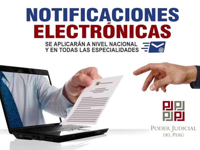 El PJ puso en marcha las notificaciones electrónicas