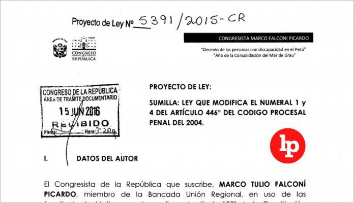 Proponen ley que faculta a fiscales decidir si inician el proceso inmediato