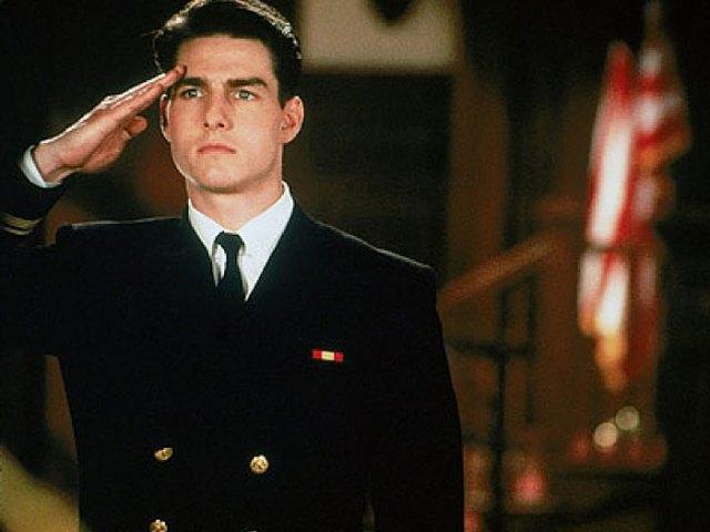 3. Daniel Kaffee (Algunos hombres buenos). Interpretado por Tom Cruise.