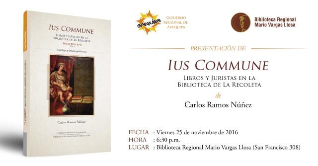 (Afiche: Biblioteca Regional Mario Vargas Llosa).