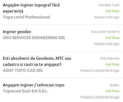 joburi pentru ingineri
