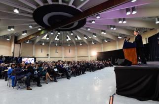 Gov. Cuomo delivers State of the State Address at SUNY Farmingdale