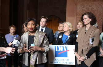 League of Women Voters, legislators push for voting reforms