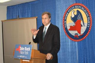 Cox reelected chairman of the Republican State Committee