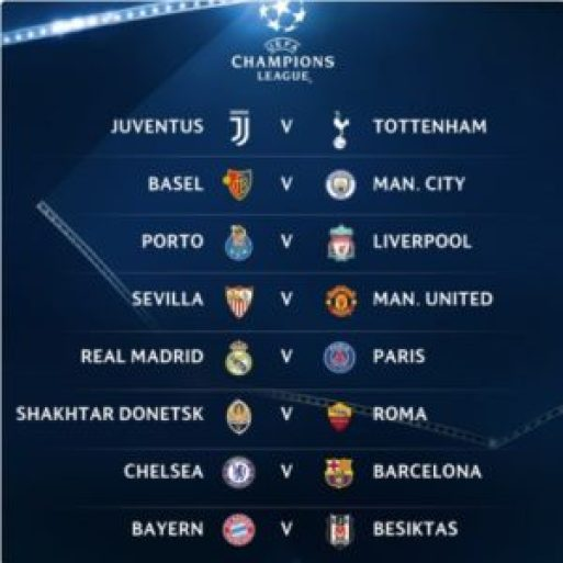 see uefa champions league fixtures for the round of 16 ucldraw legit9ja music and more see uefa champions league fixtures for