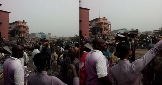 Gov Ambode On A Demolition Spree? (See Photos)