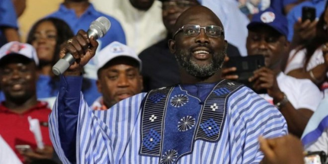 Ex-footballer George Weah Becomes Liberia's President