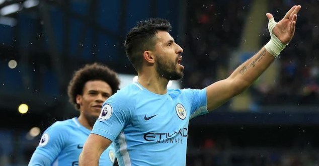 See Sergio Aguero's record Against Manchester United