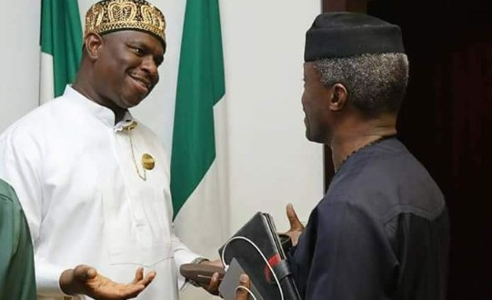 A Power Bank Spotted With VP Yemi Osinbajo?