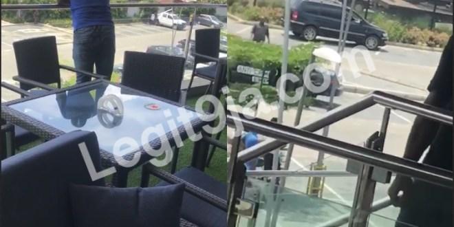 SARS Breaks In Delta Mall (Shoprite) To Arrest Alleged YahooBOY.