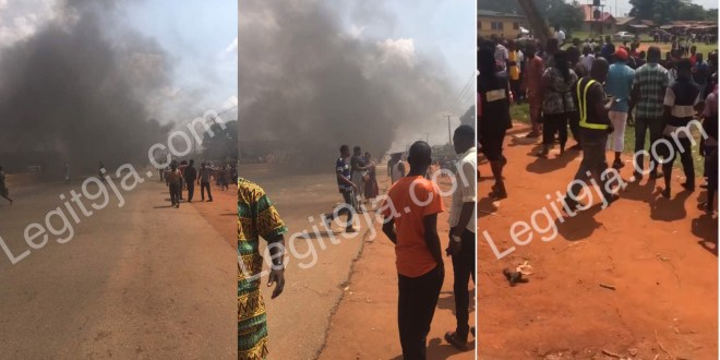 Protest In Edo State As Electricity From Fallen Pole Burns A Jss3 Student To Death (Video/Photos)