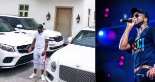 Davido Shows off His all-white Expensive Shit