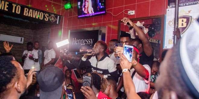 Photos From Erigga's Motivation Ghana Invasion