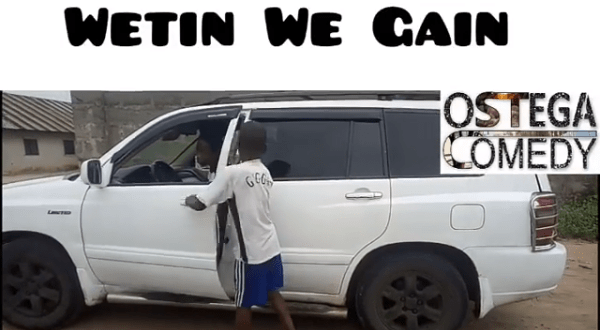 "Ostega Comedy Skit On ""Wetin We Gain"" By Victor Ad"