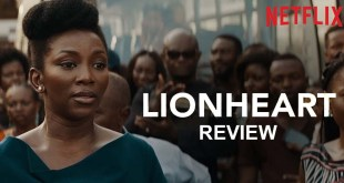 Movie Review on LIONHEART - It was Genevieve's directorial debut and she totally nailed it