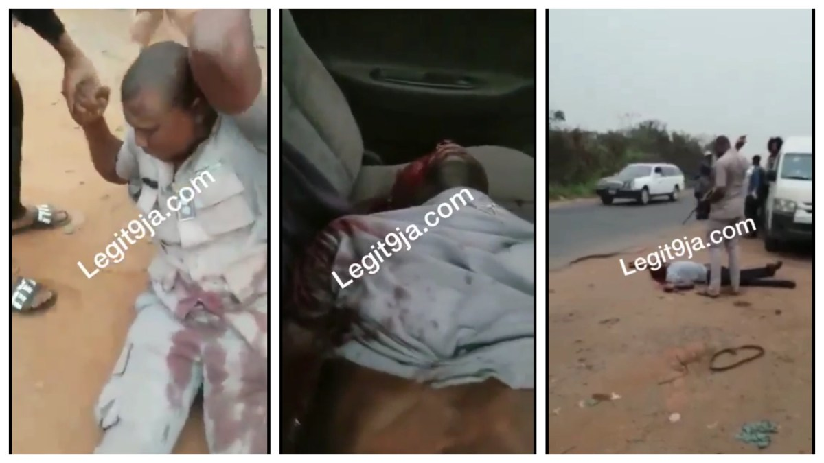 Nigerian Custom Personnel shot and killed an Innocent guy because of N5000 bribe (Photos/Videos)