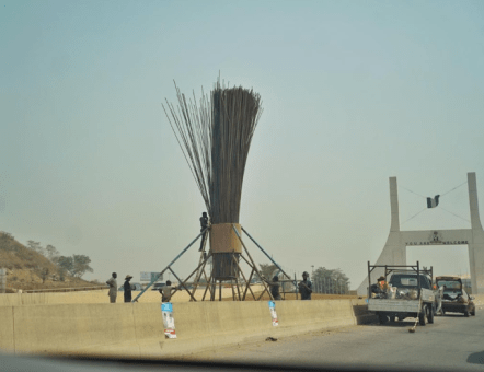 APC Supporters Mount World's Largest Broom (Photo)