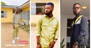 "Broda Shaggi - ""I Broke the Family Curse"" shares POP photos"