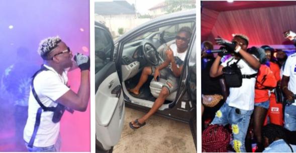 Singer, Tobi Jay gift Himself a New Car after Soldout Concert In Delta State
