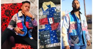 Nigerian Singer, Brenny Jones Becomes First To Rock Nipsey Hussle Jacket (Photos)