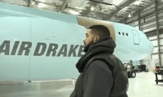 VIDEO: Drake Acquires Customized Luxury Private Jet Worth 17 Billion