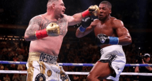 Anthony Joshua loses world heavyweight titles In shock to Andy Ruiz Jr (Photos)