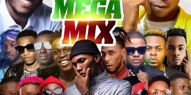 Dj Ay - Naija Mega Mix 0.1
