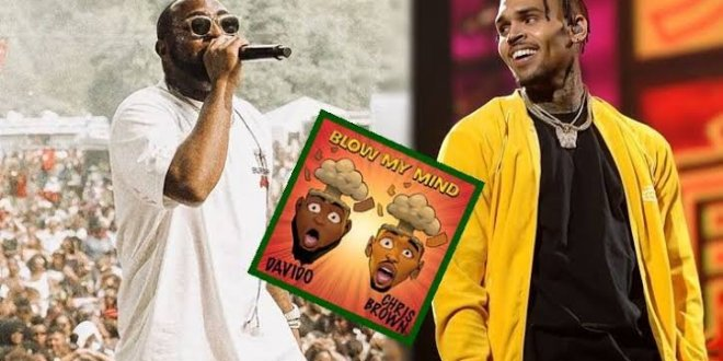 davido blow my mind ft chris brown on apple music top 10 for two months