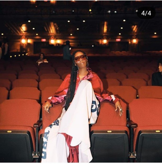 HILARIOUS: Tiwa Savage Rocks an Expensive Outfit Every Girl Should Buy