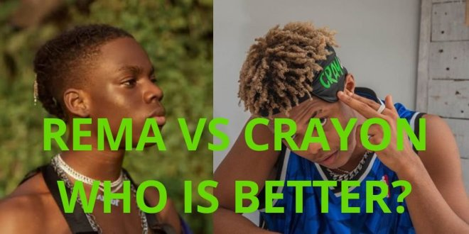 rema vs crayon six months under mavin records, who is better? full statistics