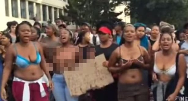 Naked Sex Workers Protest in Kenya