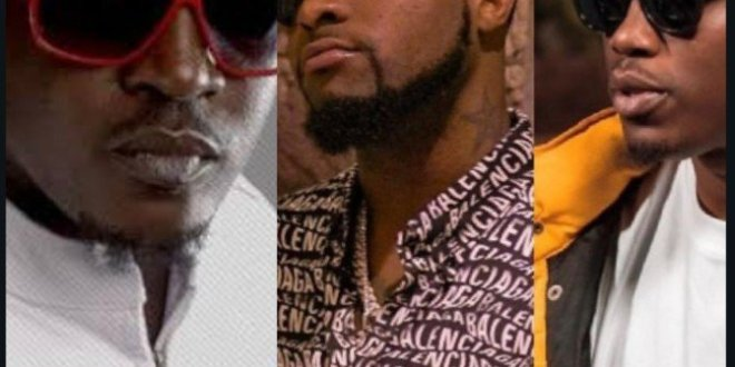 Davido Takes Sides, Support Vector in Diss With MI Abaga (Photos)