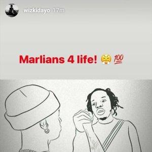 Wizkid Marlian for life