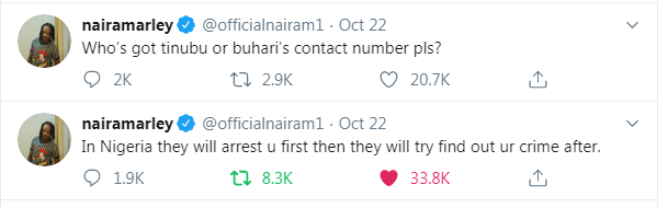 Naira Marley in Tears, Pleads for Tinibu and Buhari's Phone Numbers (SEE PHOTOS)