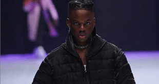 WATCH VIDEO: Rema takes to the runway for international designer brand