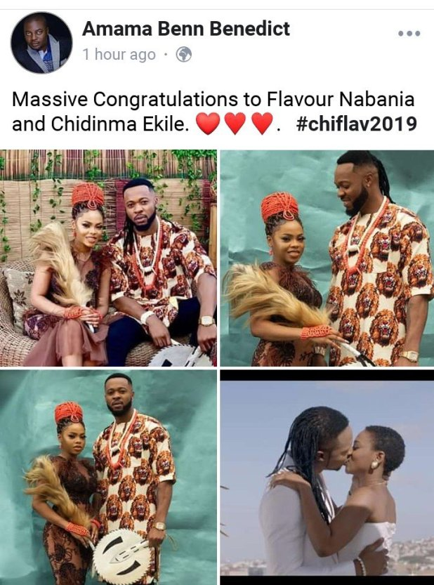 Flavour and Chidinma Set To Get Married in 2019? (SEE PHOTOS)