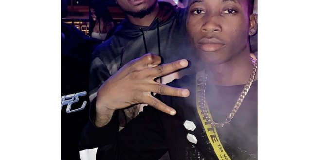 Davido's Act Lil Frosh Pictured With Quavo (SEE PHOTO)